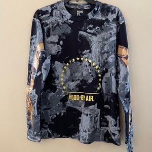 Hood by Air Long Sleeve T-Shirt size XS